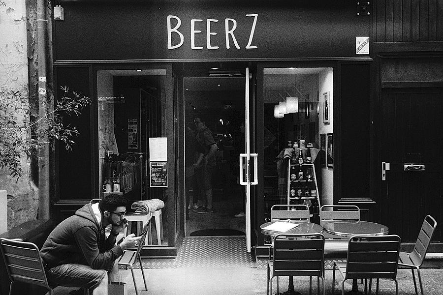 Cherbourg Bar | LEICA SUMMARON 35MM F/3.5 <br> Click image for more details, Click <b>X</b> on top right of image to close