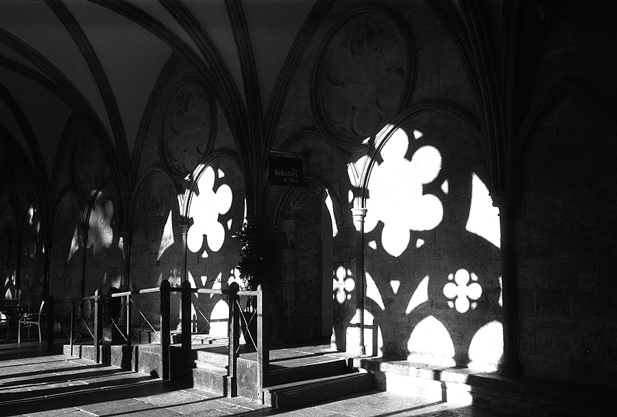 Cloisters | LEICA ELMAR 50MM F3.5 <br> Click image for more details, Click <b>X</b> on top right of image to close