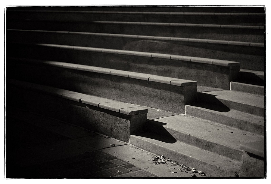just stairs | LEICA NOCTILUX 50MM F1 <br> Click image for more details, Click <b>X</b> on top right of image to close