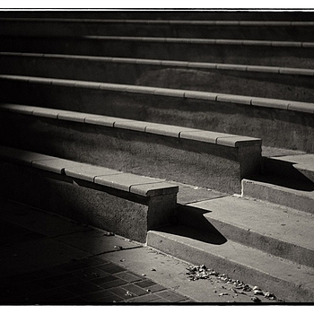 just stairs | LEICA NOCTILUX 50MM F1