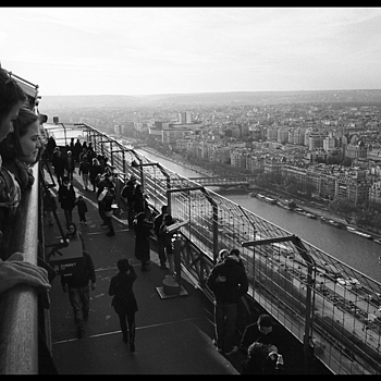 Eiffel tower | CV 28MM / F 2.0 ULTRON <br> Click image for more details, Click <b>X</b> on top right of image to close