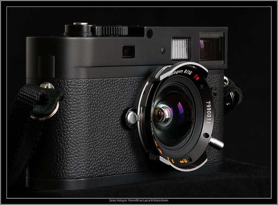 Zeiss Hologon 16mm/f8 on Leica M Monochrom | LENS MODEL NOT SET <br> Click image for more details, Click <b>X</b> on top right of image to close