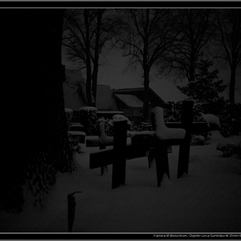 winter, snowing, no light, high ISO | LEICA SUMMILUX 35MM F1.4 ASPH