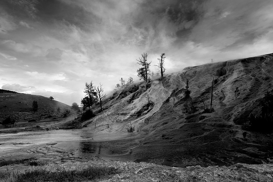 Mammoth Hot Springs, Yellowstone | LEICA ELMARIT 24MM F2.8 ASPH <br> Click image for more details, Click <b>X</b> on top right of image to close
