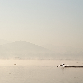 Fisherman on Inle Lake | LEICA MACRO-ELMAR 90MM F <br> Click image for more details, Click <b>X</b> on top right of image to close