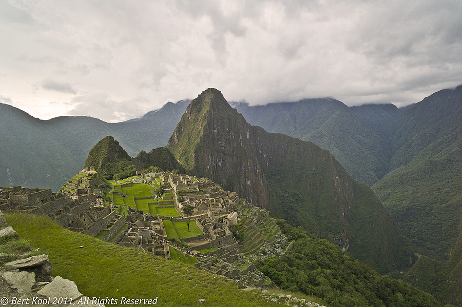 Machu Picchu, View from Inca Trail, Peru | LEICA ELMARIT 21MM F2.8 ASPH <br> Click image for more details, Click <b>X</b> on top right of image to close