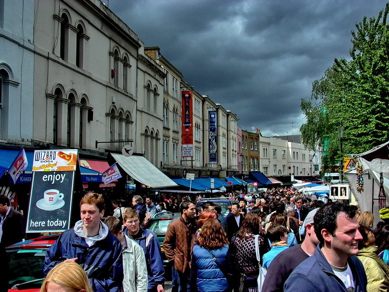Portobello Market, London | LENS MODEL NOT SET <br> Click image for more details, Click <b>X</b> on top right of image to close