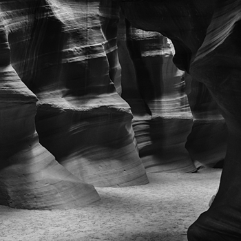 Antelope Canyon B&W | LENS MODEL NOT SET <br> Click image for more details, Click <b>X</b> on top right of image to close