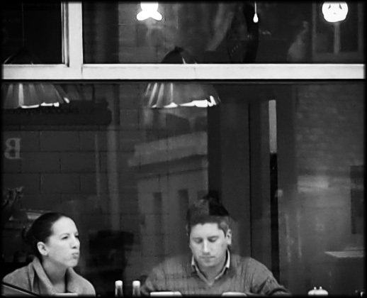 Through A Cafe Window | DG SUMMILUX 25MM/F1.4 ASPH <br> Click image for more details, Click <b>X</b> on top right of image to close