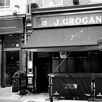 grogans bar dublin | LEICA ELMAR 35MM F3.5 <br> Click image for more details, Click <b>X</b> on top right of image to close