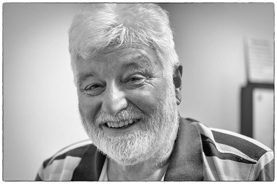 Ken is a happy fellow | LEICA ELMAR 50MM F2.8 <br> Click image for more details, Click <b>X</b> on top right of image to close