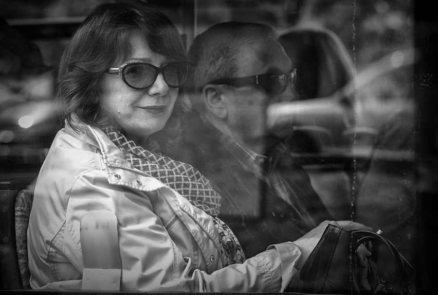 """A travers les vitres #9"" (Mona Lisa) 
