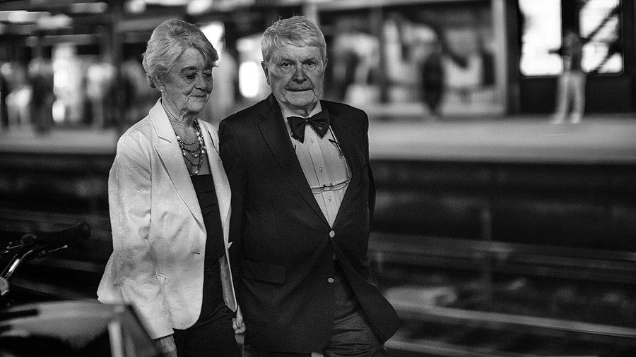 """We're not really THAT rich, but we like to dress up every now and then . . "" 