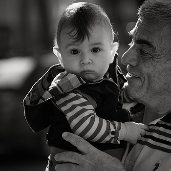 Me & my Grandpa | LEICA SUMMILUX  75MM F/1.4 <br> Click image for more details, Click <b>X</b> on top right of image to close