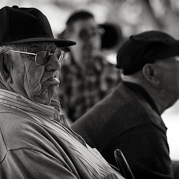 Parkbenchers, category grumpy old men | LEICA APO-SUMMICRON 90MM F2 ASPH <br> Click image for more details, Click <b>X</b> on top right of image to close