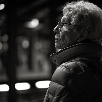 Subway portrait | SUMMILUX-M 1:1.4/50 ASPH <br> Click image for more details, Click <b>X</b> on top right of image to close