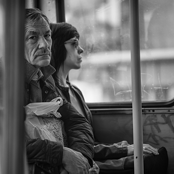 """A travers les vitres #7"" 