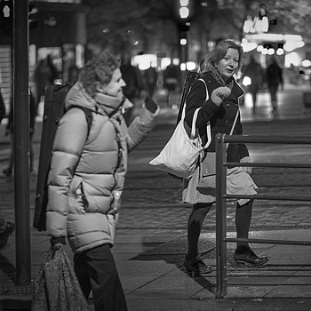 """Bye, bye!"" 