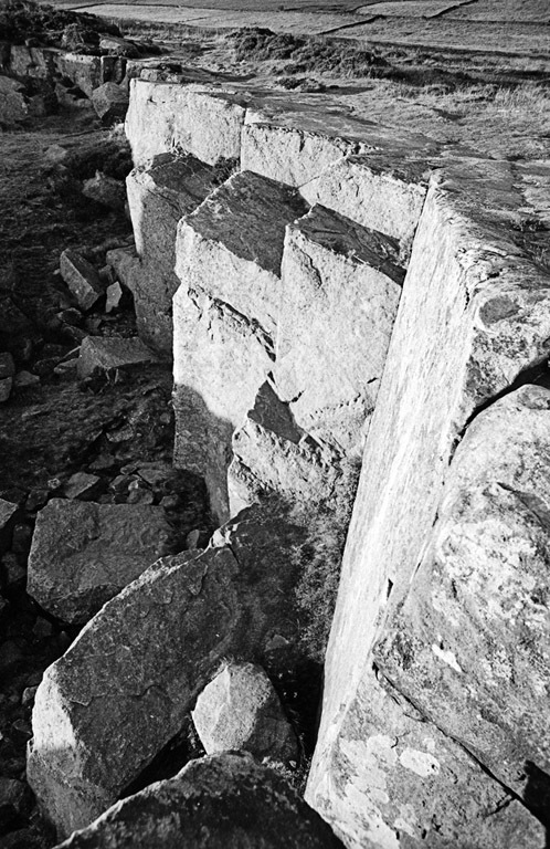 Curbar Edge - Agfa APX 100 in a Leica R6.2 | LENS MODEL NOT SET <br> Click image for more details, Click <b>X</b> on top right of image to close