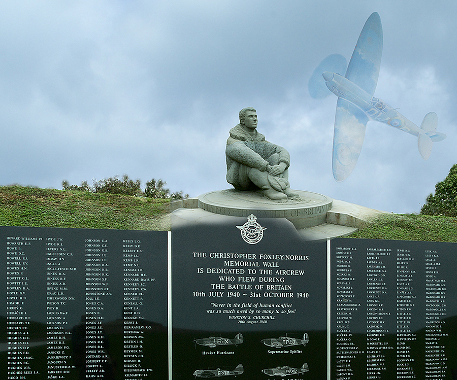 Battle of Britain Memorial - Capel Le Ferne | LEICA TRI-ELMAR 28-35-50MM F4 ASPH <br> Click image for more details, Click <b>X</b> on top right of image to close