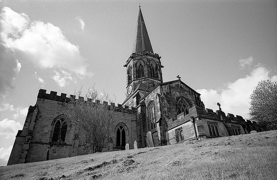 Bakewell Church | LEICA ELMARIT 21MM F2.8 ASPH <br> Click image for more details, Click <b>X</b> on top right of image to close