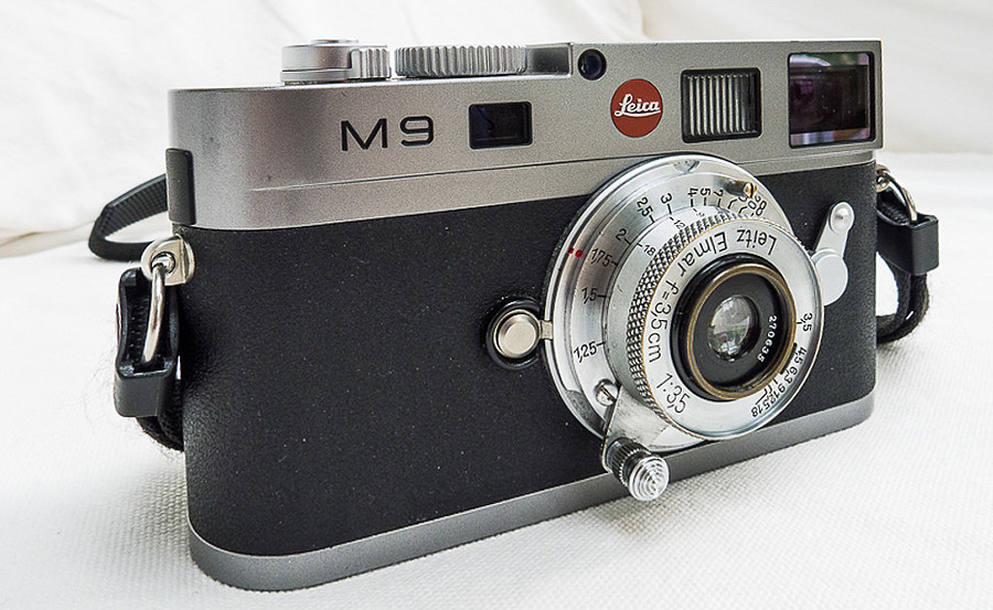 1937 Leitz Elmar f3.5 35mm in the digital age | LENS MODEL NOT SET <br> Click image for more details, Click <b>X</b> on top right of image to close