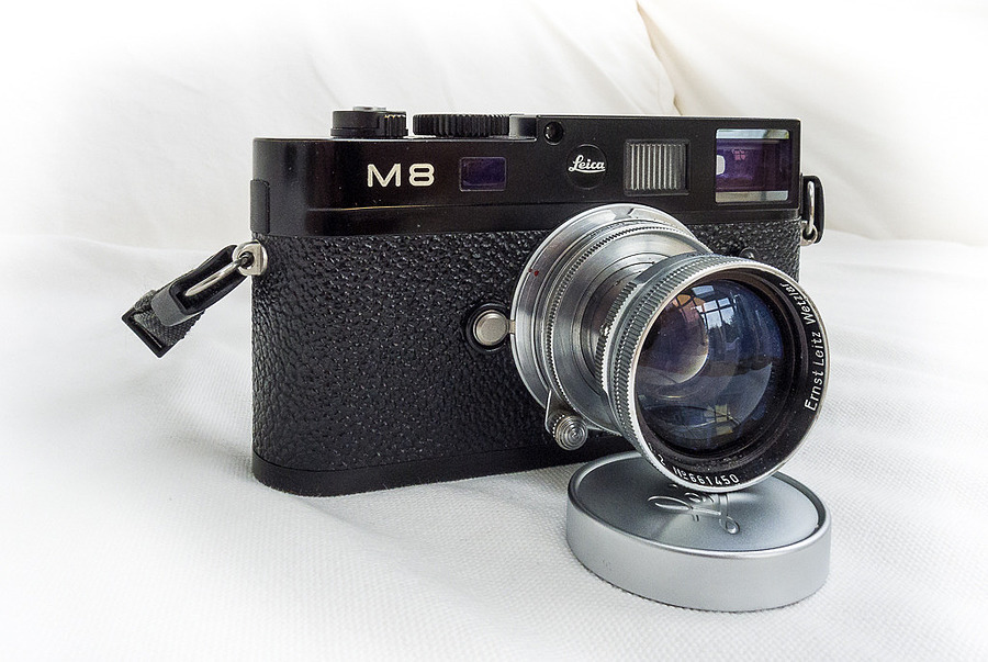 Leica M8-2 with 1950's 50mm f2 Summitar | LEICA SUMMICRON 50MM F2 <br> Click image for more details, Click <b>X</b> on top right of image to close