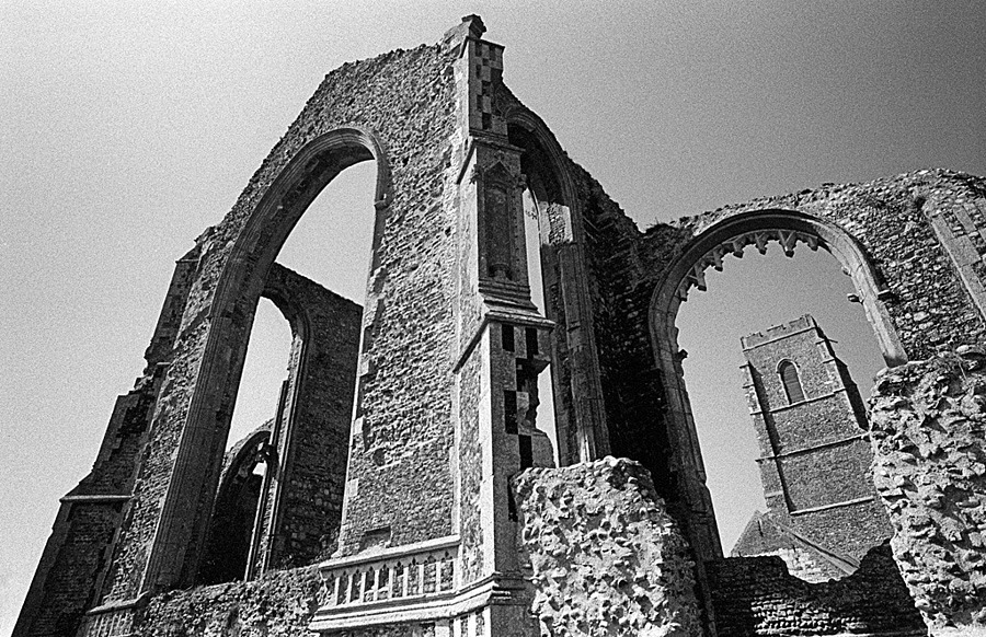 60 Years of the Leica M - Suffolk using an M3 - Covehithe Church | LEICA ELMARIT 21MM F2.8 ASPH <br> Click image for more details, Click <b>X</b> on top right of image to close