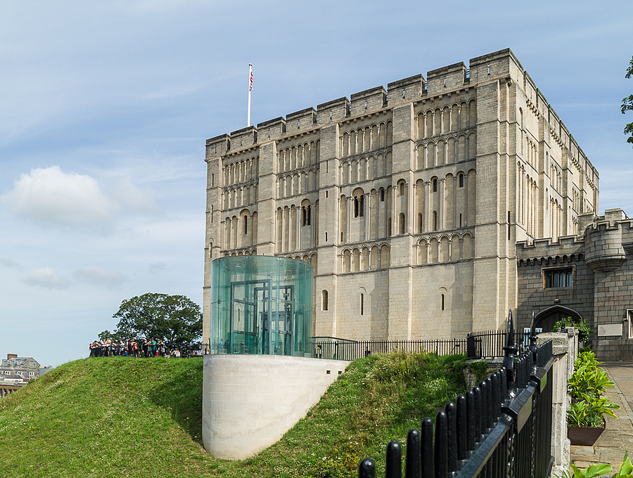Norwich Castle | LEICA TRI-ELMAR 16-18-21MM F4 ASPH <br> Click image for more details, Click <b>X</b> on top right of image to close