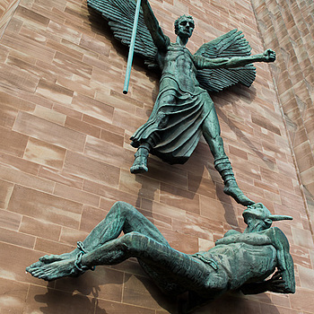 Coventry Cathedral | LEICA TRI-ELMAR 28-35-50MM F4 ASPH <br> Click image for more details, Click <b>X</b> on top right of image to close