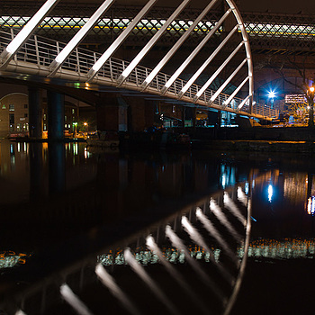 Manchester - Castlefield - Merchant's Bridge | LEICA TRI-ELMAR 28-35-50MM F4 ASPH <br> Click image for more details, Click <b>X</b> on top right of image to close