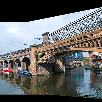 Manchester - Castlefield - Bridgewater Canal | LEICA TRI-ELMAR 28-35-50MM F4 ASPH <br> Click image for more details, Click <b>X</b> on top right of image to close
