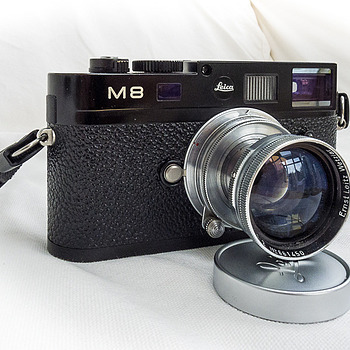 Leica M8-2 with 1950's 50mm f2 Summitar | LEICA SUMMICRON 50MM F2