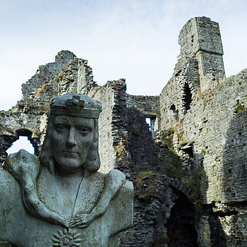 Richard III - Middleham Castle - Yorkshire