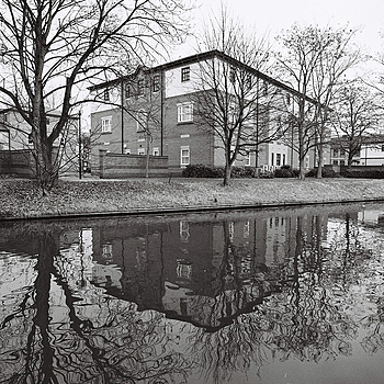 Nottingham Canal | LEICA 19MM F/2.8 ELMARIT 2ND VERSION 1990 <br> Click image for more details, Click <b>X</b> on top right of image to close