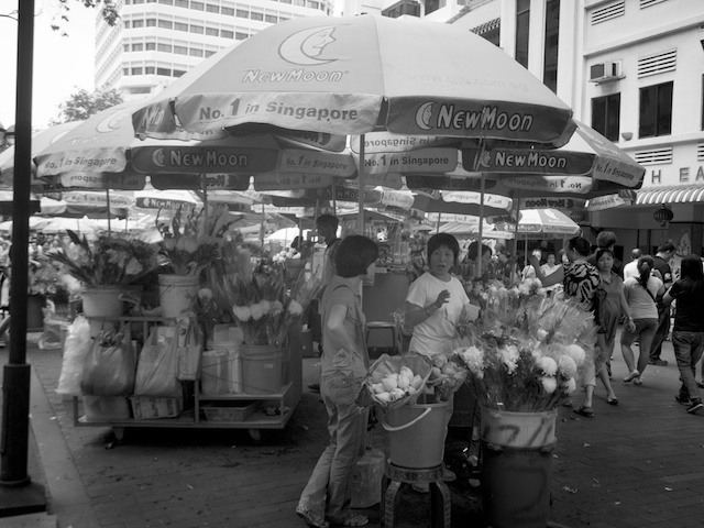 Flower Sellers | LEICA SUPER ANGULON  21MM F4 <br> Click image for more details, Click <b>X</b> on top right of image to close