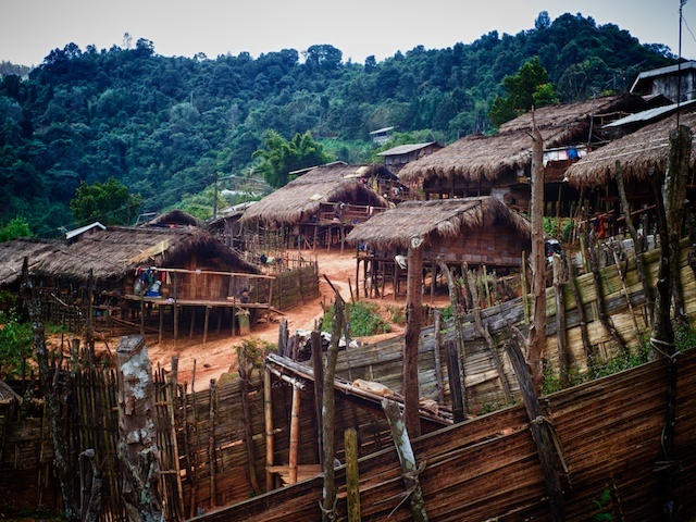 Hill-Tribe Village | LEICA SUMMICRON 35MM F2 <br> Click image for more details, Click <b>X</b> on top right of image to close