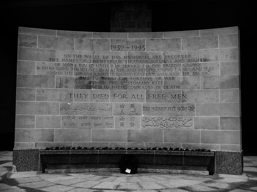 Kranji War Memorial -Singapore | LENS MODEL NOT SET <br> Click image for more details, Click <b>X</b> on top right of image to close