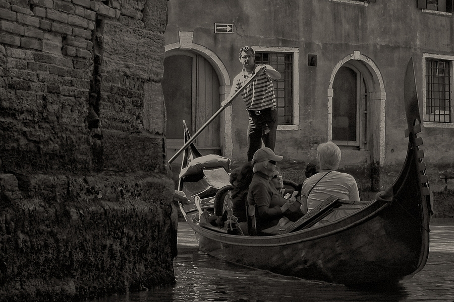 Venice Revisited in B/W | LENS MODEL NOT SET <br> Click image for more details, Click <b>X</b> on top right of image to close