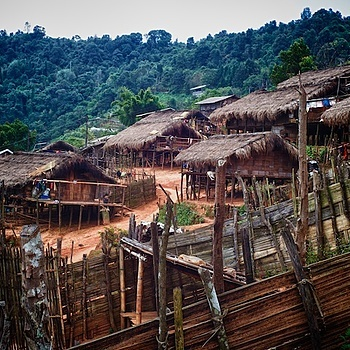 Hill-Tribe Village | LEICA SUMMICRON 35MM F2. <br> Click image for more details, Click <b>X</b> on top right of image to close