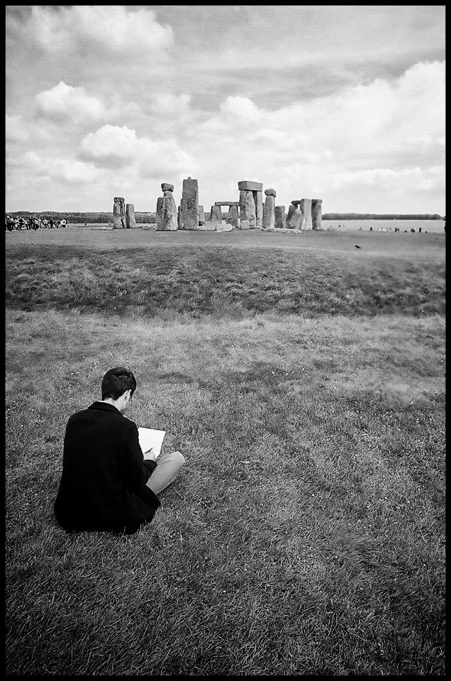 Drawing the Henge | NKON 20MM F2.8 AIS <br> Click image for more details, Click <b>X</b> on top right of image to close