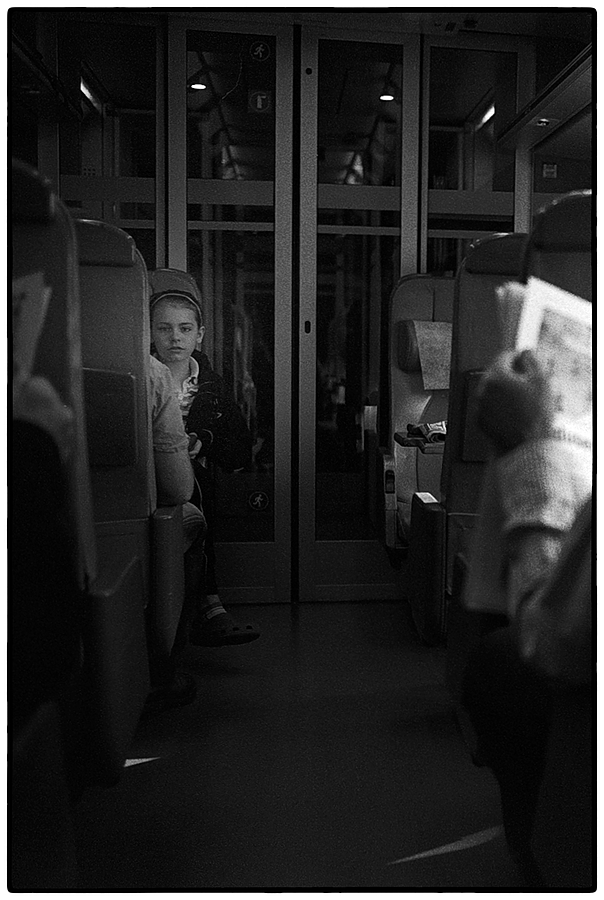 Girl on a Train | SUMMILUX-M 1:1.4/50 ASPH <br> Click image for more details, Click <b>X</b> on top right of image to close