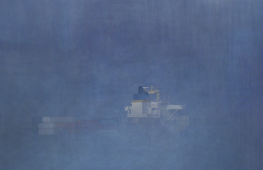 Ship in fog | DC VARIO-ELMARIT 1:2.8-3.7/7.4-88.8 ASPH <br> Click image for more details, Click <b>X</b> on top right of image to close