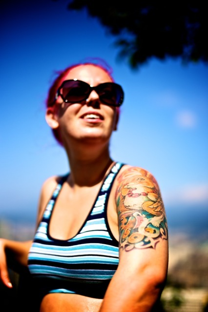 My friend Natalie & her tattoes | SUMMILUX-M 1:1.4/50 ASPH <br> Click image for more details, Click <b>X</b> on top right of image to close