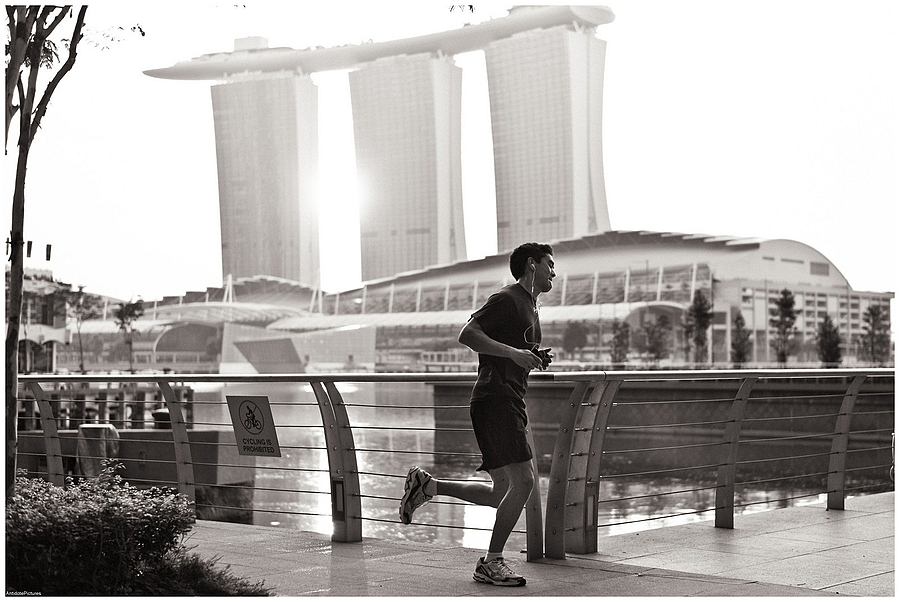 Morning run:::Singapore | LEICA SUMMICRON 50MM F2 <br> Click image for more details, Click <b>X</b> on top right of image to close