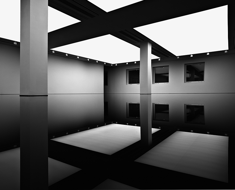 Richard Wilson 20/50 Work Saatchi Gallery London | LEICA SUPER-ELMAR 18MM F3.8 ASPH <br> Click image for more details, Click <b>X</b> on top right of image to close