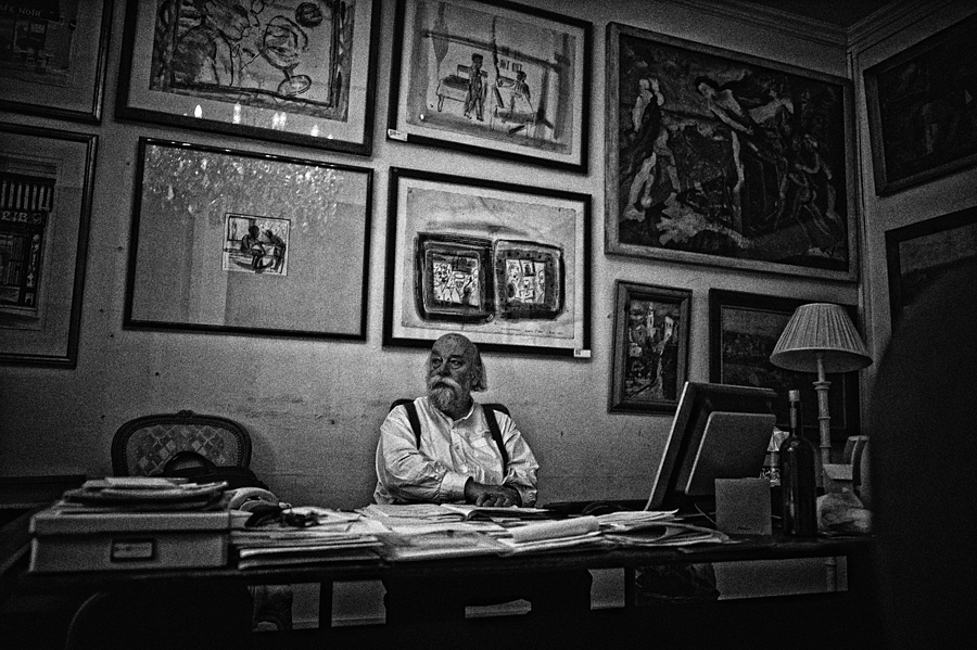 Study of Roy Ackerman | LEICA SUMMICRON 28MM F2 ASPH <br> Click image for more details, Click <b>X</b> on top right of image to close