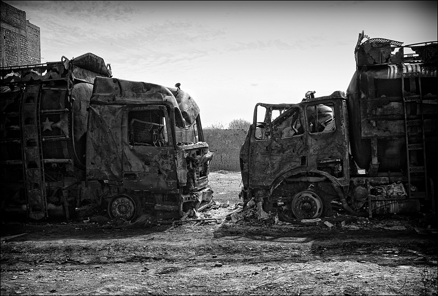 Suicide Bombers attack on Petrol Tankers Herat Afghanistan | LEICA SUMMICRON 28MM F2 ASPH <br> Click image for more details, Click <b>X</b> on top right of image to close