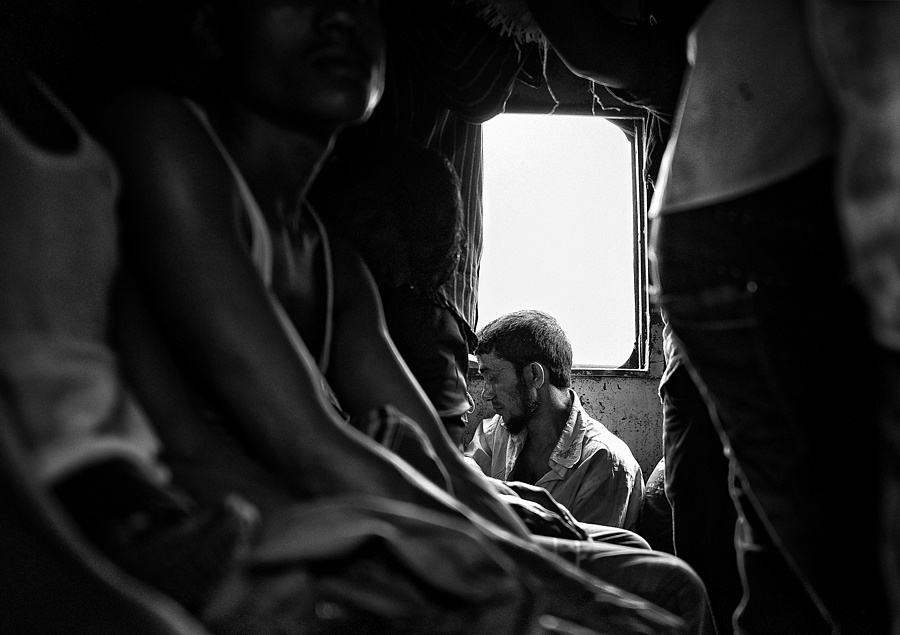 Overcrowded Train Bangladesh | LEICA SUMMILUX 24MM F1.4 ASPH <br> Click image for more details, Click <b>X</b> on top right of image to close