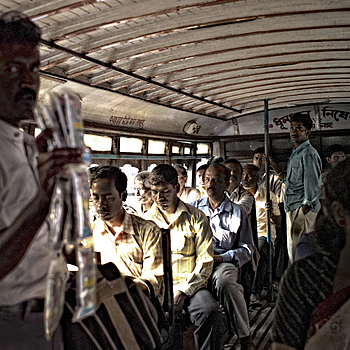 Photo: Commuters Kolkata